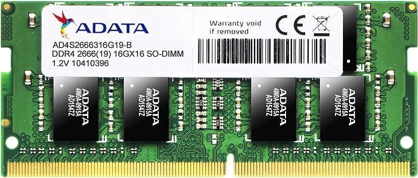 Adata Ad4s2666316g19 R Speichermodul 16 Gb Ddr4 2666 Computer Zubehör