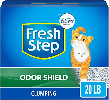 Fresh Step Scented Litter with The Power of Febreze