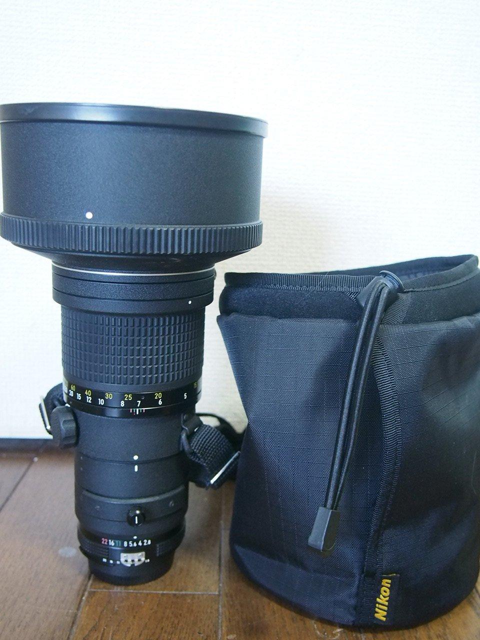Nikon MFレンズ ED Ai 300mm F2.8s   B007RLW27O