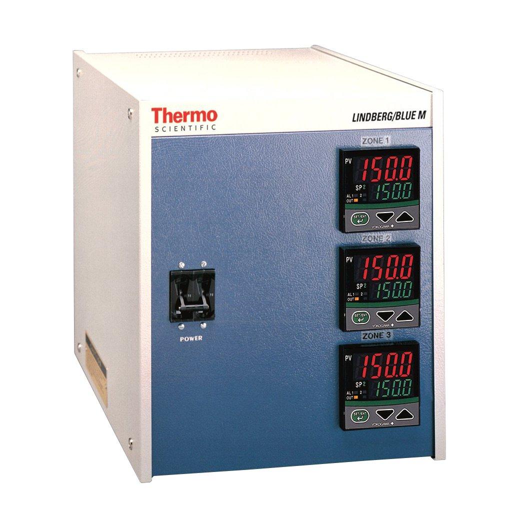 Thermo Scientific CC58434PBC Lindberg/Blue M Three Zone, 16-Segment Console  Furnace Temperature Controller with Digital Display, 240V, For Lindberg/Blue  M ...