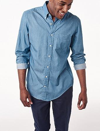 Gant The Inidigo-Camisa Hombre, Multicolor Multicolor Talla:Small: Amazon.es: Deportes y aire libre