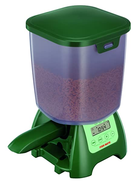 P7000 Pond Fish Feeder - the best automatic pond fish feeder