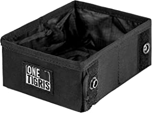 OneTigris Military Pet Bowl Collapsible 32 oz Treat Food & Water Holder for Small to Medium Puppy Dog