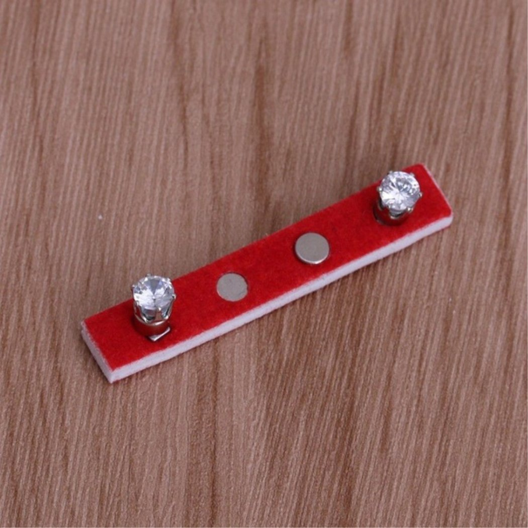 OppoLing Ear Nail Fat Burning Without Dieting Magnet Crystal Earring Ear Stud Valid Best Product by OppoLing (Image #7)
