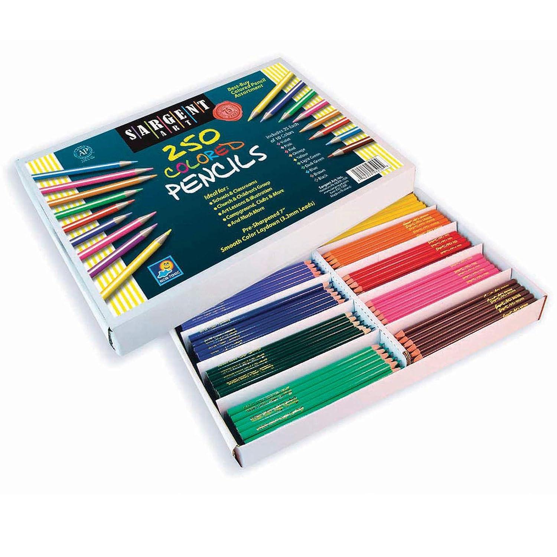Sargent Art Sortiment 250-count kaufen Farbigen Bleistift Sortiment Art ffce8c