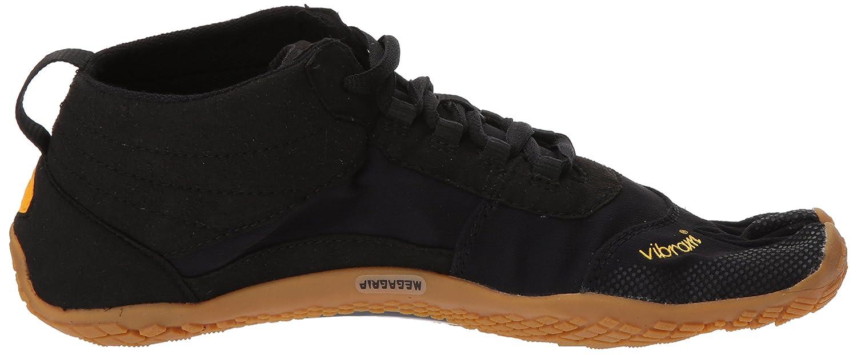 Vibram Mens V-Trek Black//Gum Hiking Shoe