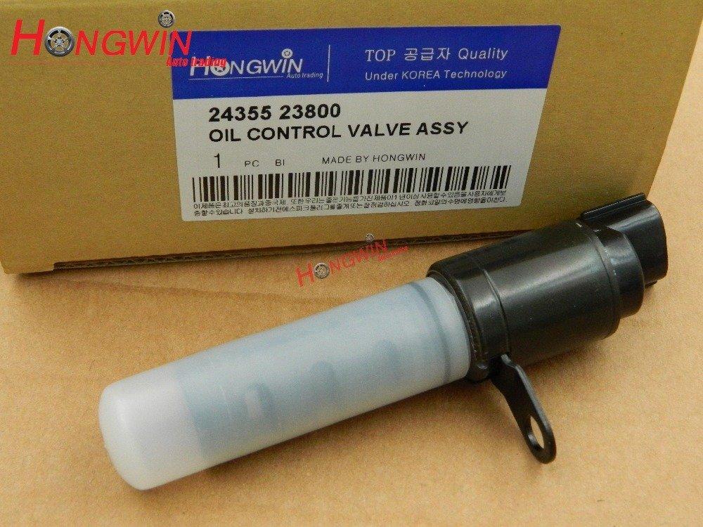 HW 24355-23800 Timing OIL CONTROL VALVE ASSY VVT Variable Timing Solenoid Fits Hyundai Kia Motor ELANTRA SOUL 2.0L 05-12