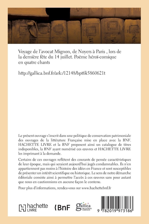 Amazonfr Voyage De Lavocat Mignon De Noyers à Paris