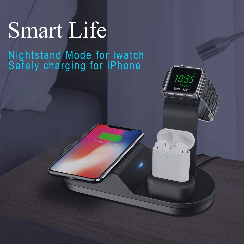Amazon.com: Deszon Cargador inalámbrico diseñado para Apple ...