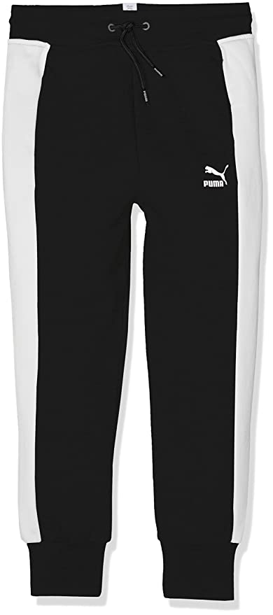 Evostripe Damen Sweatpants | Puma Black | PUMA Valentines