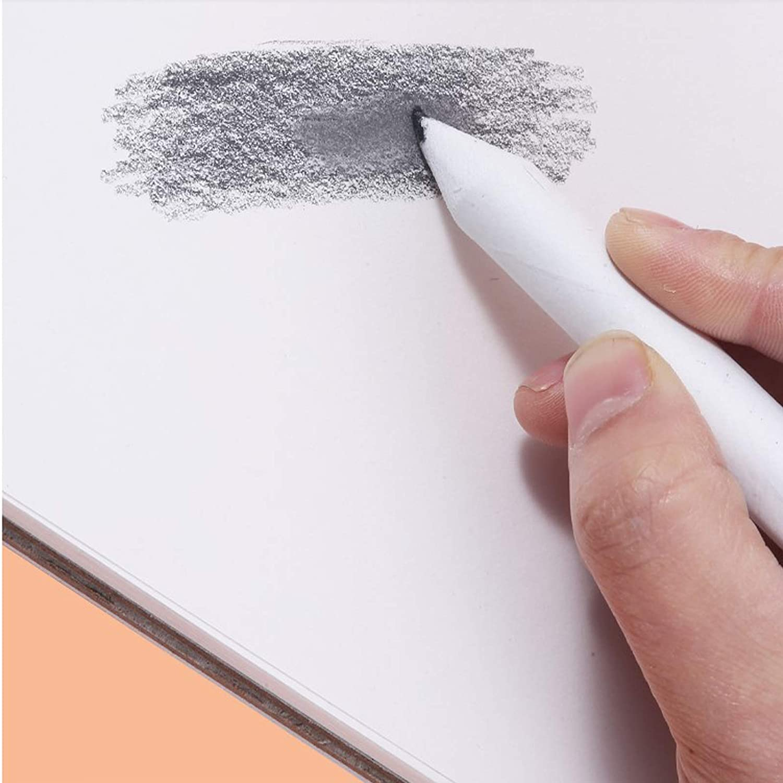 Almencla 16 Pz Set Blending Stump Smudge Tortillon Sketch Art Drawing Tool Pastel