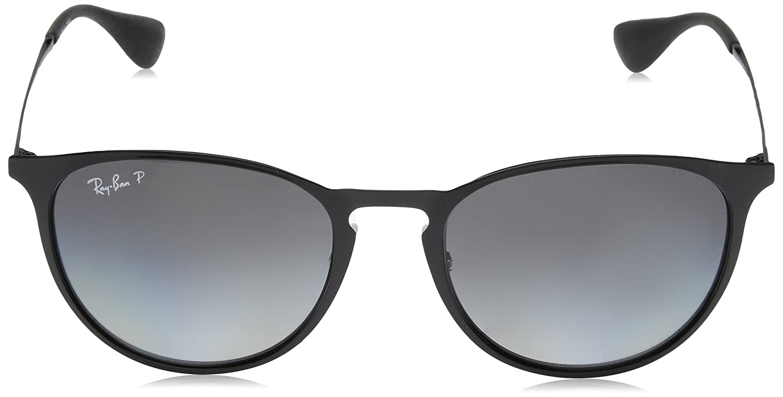 6e631d1974 Amazon.com  Ray-Ban RB3539- Shiny Black Frame Light Grey Gradient Grey  Polar Lens