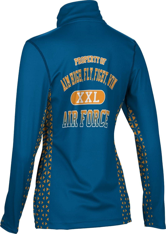 ProSphere Women's AIM HIGH, FLY, FIGHT, WIN Military Geometric Full Zip Jacket