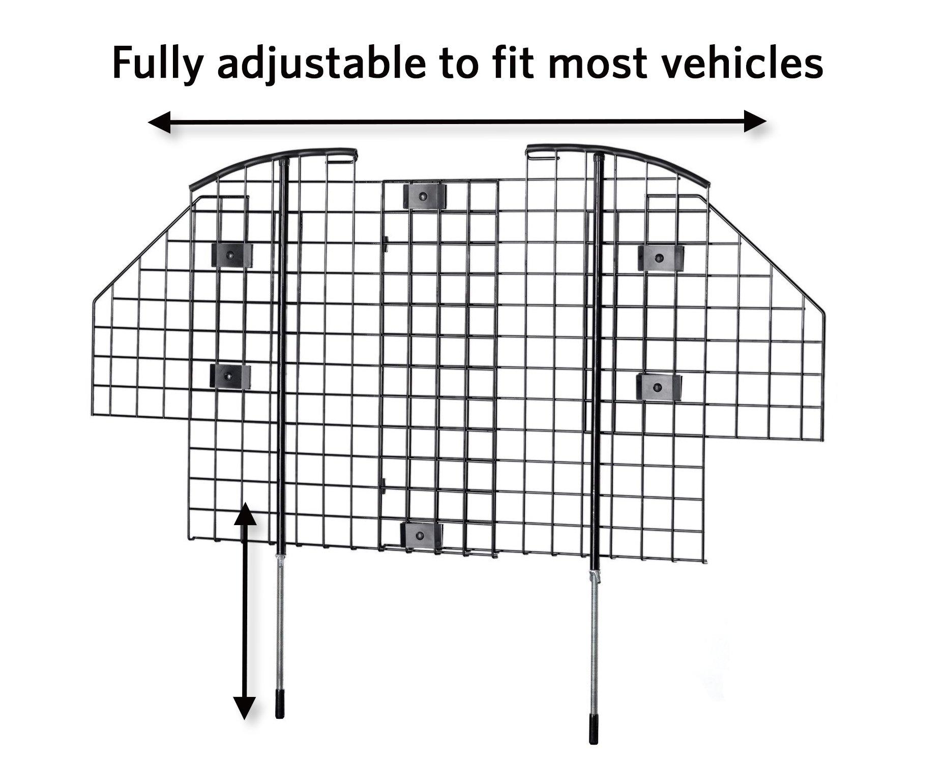 Car Pet Wire Mesh Barrier Vehicle Dog Fence Gate Safety SUV Wagon ...