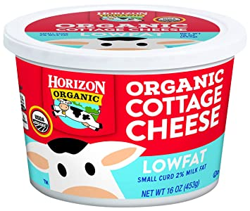 Horizon Organic, Cottage Cheese, Low Fat, 16 Oz