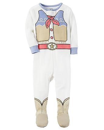 Amazon.com  Carter s Baby Girls  1-Piece Cowgirl Snug Fit Cotton PJs ... d595d6d7a