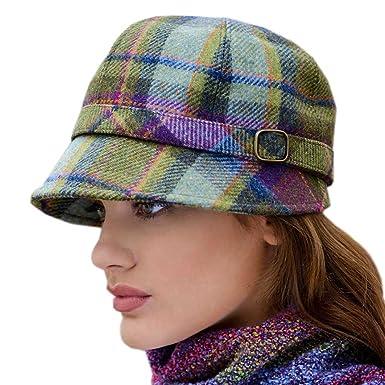 Amazon.com  Ladies Plaid Flapper Hat ea39e5c0586