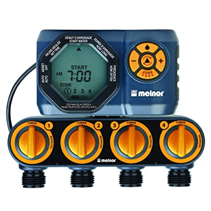Amazon.com: Temporizador digital de agua de 4 zonas.: Jardín ...