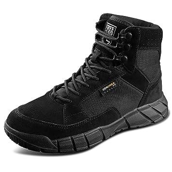 Free Soldier Outdoor 2da Generación Hombre Storm Transpirable Durable Zapatos de Cordones Tácticos Zapatos de Senderismo