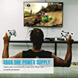 Xbox One Power Supply, Xbox One Power Brick [Global Version] Low Noise Replacement AC Adapter Cord for Microsoft Xbox One, Worldwide Use 100V-240V