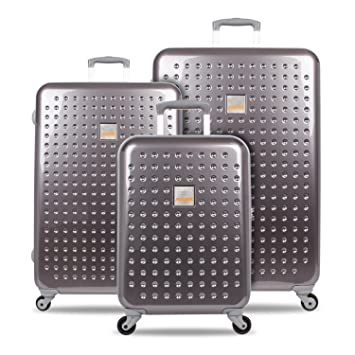 SUITSUIT Juego de maletas Gris platinum/grey Luggage Set 3 pieces: Amazon.es: Equipaje