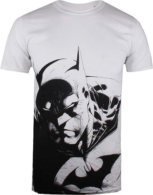 DC Comics Batman Scowl Camiseta para Hombre: Amazon.es: Ropa y accesorios