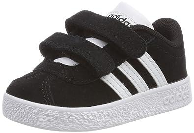 buy popular 0f394 e9955 adidas VL Court 2.0 CMF I Chaussures de Fitness Mixte Enfant, Noir (Negbas