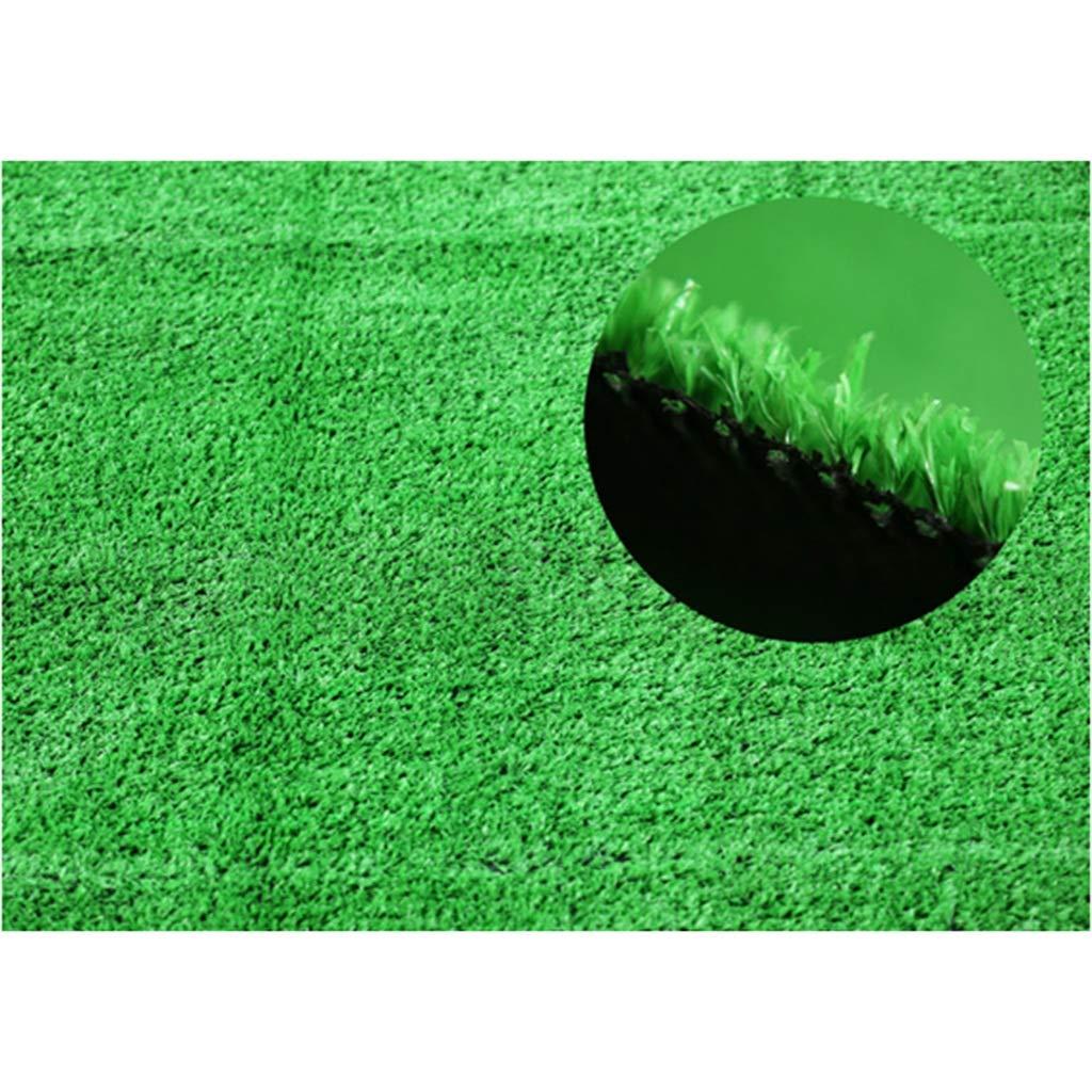 YNFNGXU 人工芝15 mm杭高密度緑の偽の芝生犬ペット1 x 2 m屋内バルコニー風景 (サイズ さいず : 25x1m) B07RHTN445  25x1m