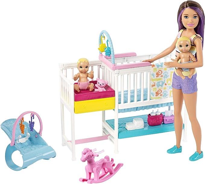 BARBIE Kelly Playsets ~ Lot of 2  ~ TikiHut Sand Kelly /& Beekeeper Barbie NEW