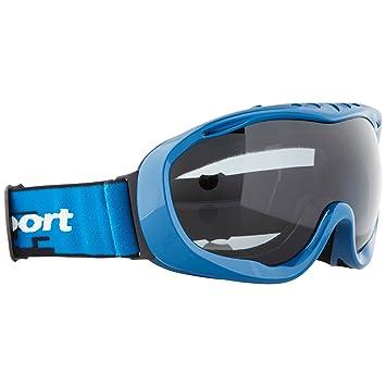 Ultrasport 331500000093 Gafas de esquí y Snowboard con Lente antivaho, Unisex Adulto, Negro/