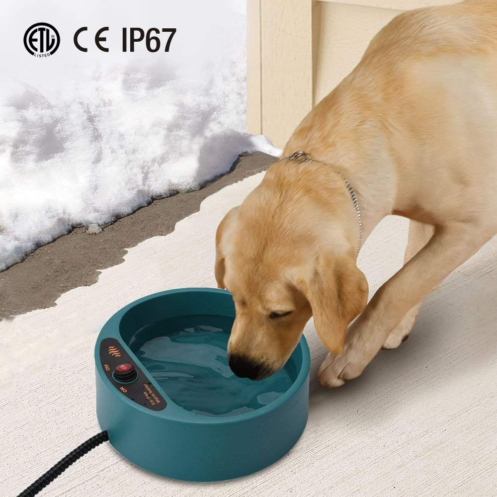 Namsan Heated Pet Bowl Outdoor Heated Bowl