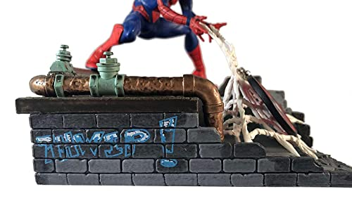 Marvel Spider-Man Finders Keypers Statue Official Spider-Man Key Holder Figure Holds Your Keys, Wallet, Watch More Measures 5.5 Inches