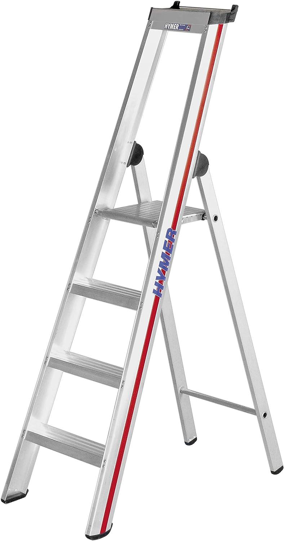 HYMER 602604 - Escalera de tijera: Amazon.es: Bricolaje y herramientas