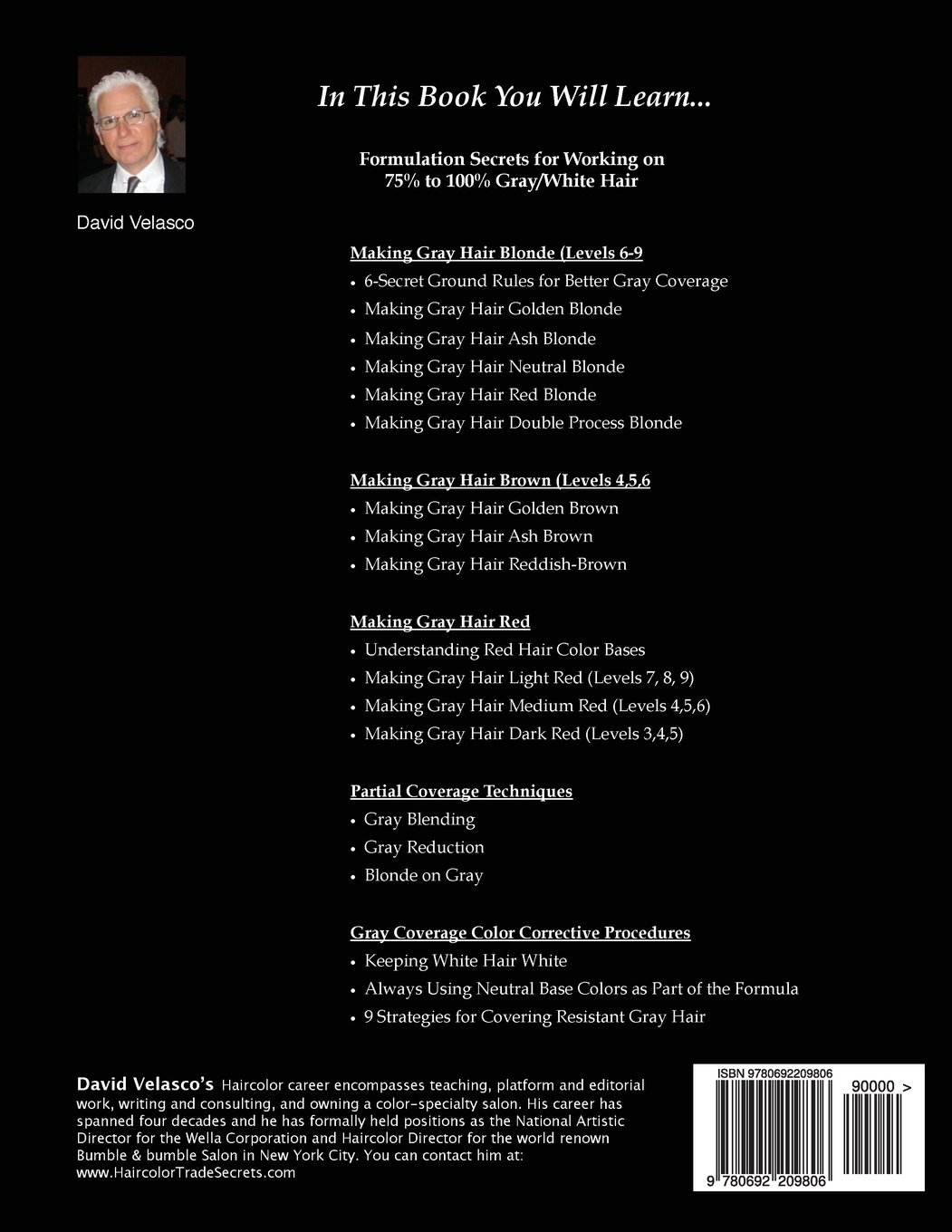 Great Gray Coverage (Trade Secrets of a Haircolor Expert) (Volume 3) by Salon Success Systems