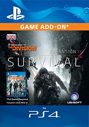 Tom Clancy's The Division Survival Edition DLC [PS4 Download Code