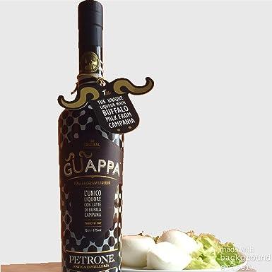 Guappa - licor con leche de búfala de Campania 70 Cl.