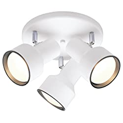 Westinghouse 66326-00 66326 Three-Light Multi-Directional Ceiling Fixture