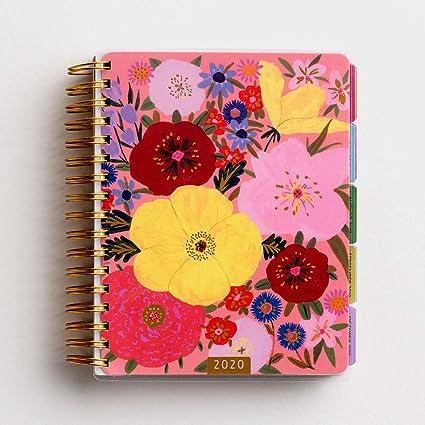 DaySpring Whimsy Floral 2020 Planificador de agenda de 18 meses ...