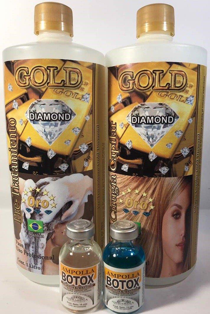 Amazon.com : Cirugía Capilar Diamond Gold 1 liter (Shampoo-Treatment) : Everything Else