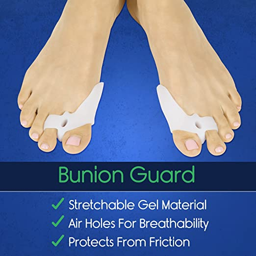 ViveSole Bunion Corrector Kit - Gel Sleeve Feet Pain Treatment - Surgery Recovery