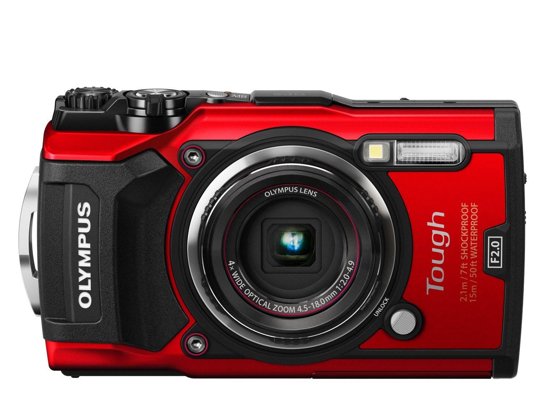 Olympus Tough TG-5 Digitalkamera (Rot)