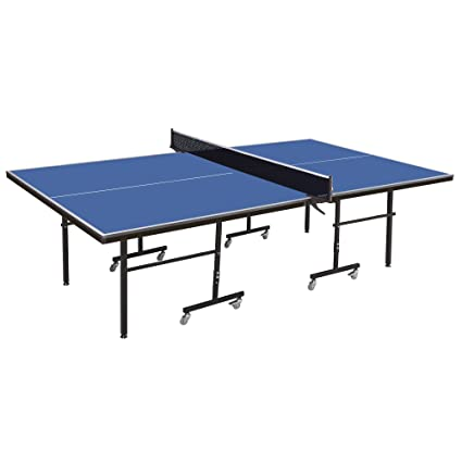 Tu0026R Sports Ping Pong Tables Folding Table Tennis Table 1/2 Inch Pro Size  Foldable