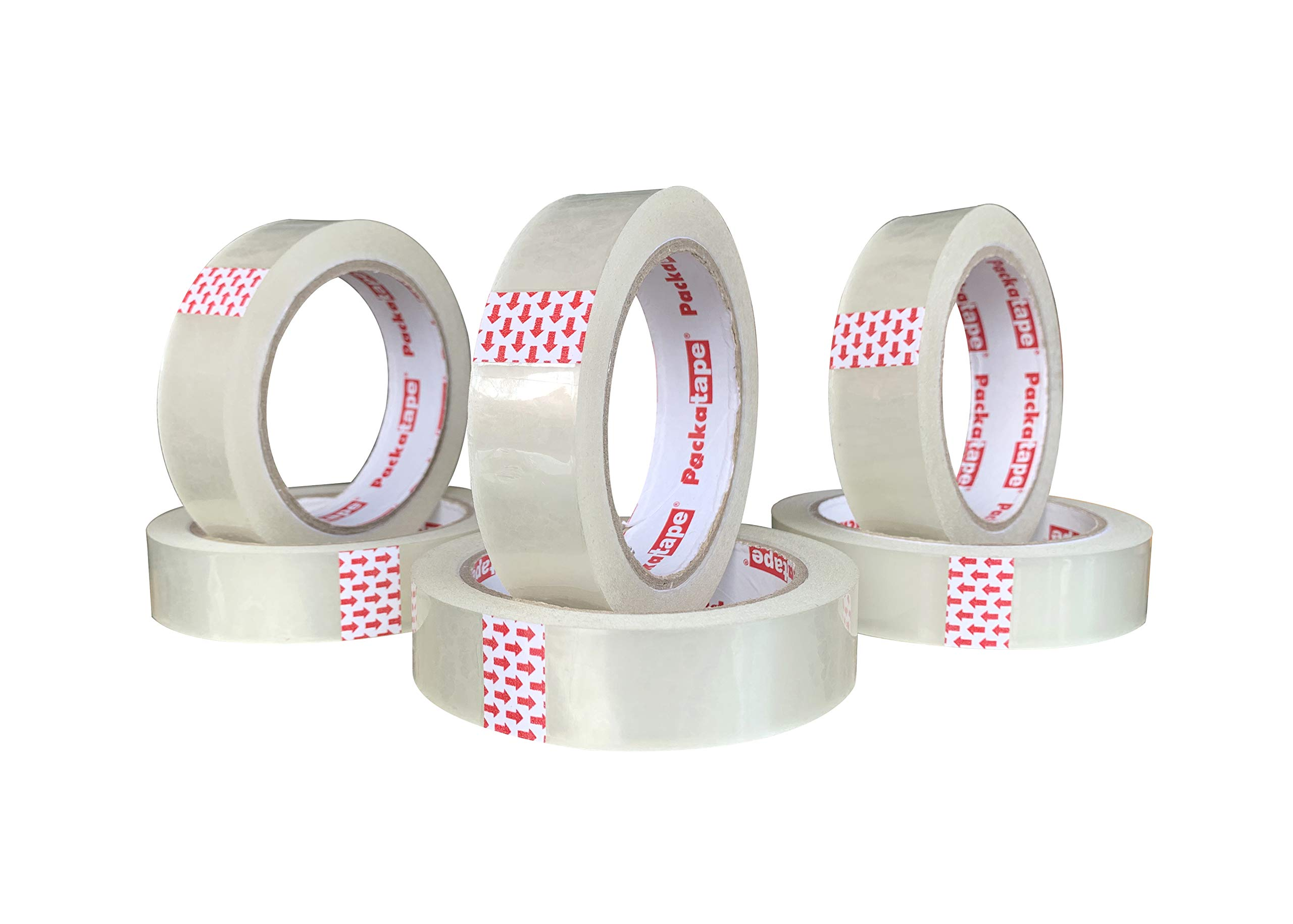 Office Sellotape Clear Cellotape Packing Tape Gift Wrapping Cello Tape Roll x 3