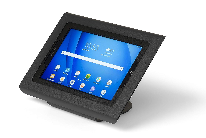 Soporte de escritorio antirrobo compatible con tablet Samsung Galaxy TAB A 10.1 negro