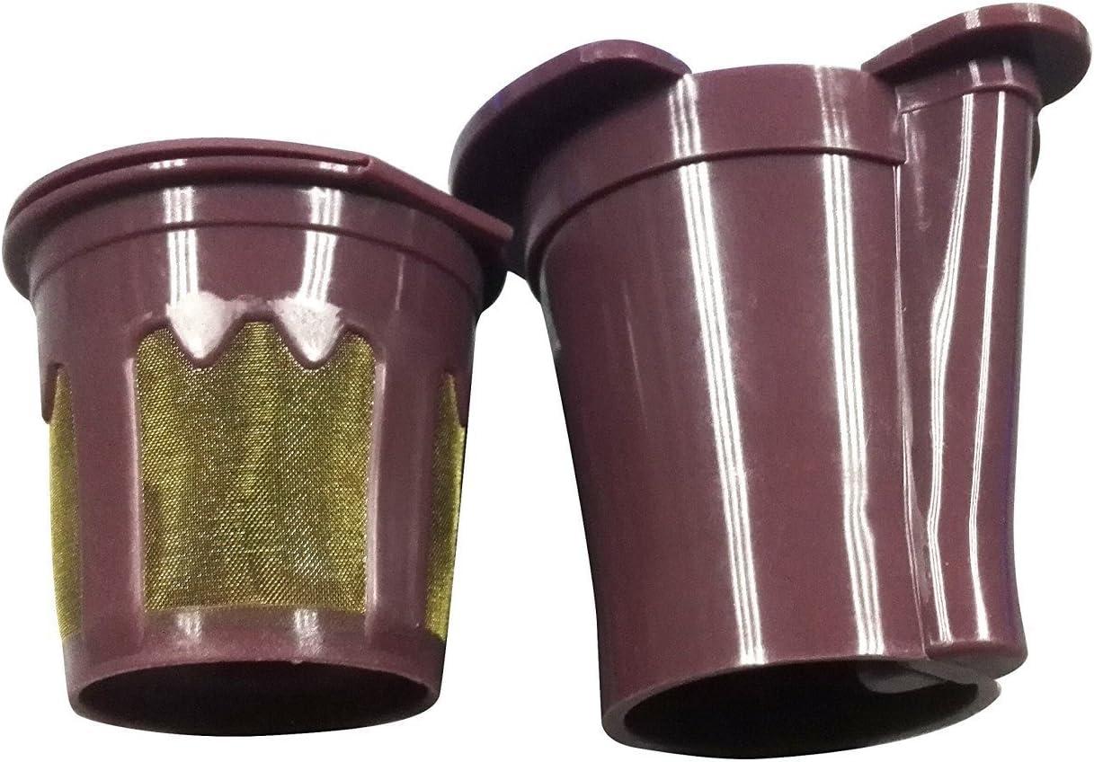 Davossen Cup für Keurig Vue Brewers Reusable Coffee Works mit Keurig V500, V600, V700, V1200 und V1255