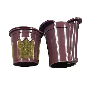 Davossen Cup for Keurig VUE Brewers Reusable Coffee Works with Keurig V500, V600, V700, V1200 and V1255