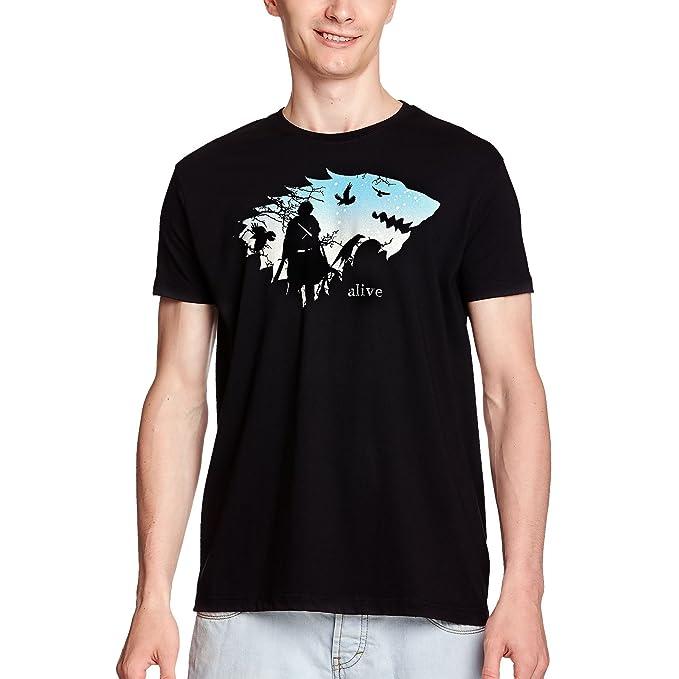 Elbenwald Jon está Vivo Camiseta para Hombre para el Juego de ...