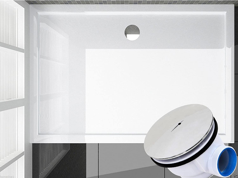 120 x 90 Plato de ducha Ducha Bañera plano bañera H 6 cm para mampara de ducha cabina: Amazon.es: Bricolaje y herramientas