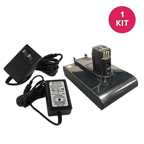 Amazon.com: 2 piezas juego de batería y cargador: Home & Kitchen