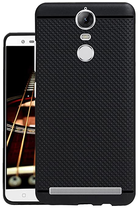 pretty nice 46c3b f61ce Jkobi® 360* Protection Dotted Designed Soft Rubberised Back Case Cover for  Lenovo Vibe K5 Note -Black